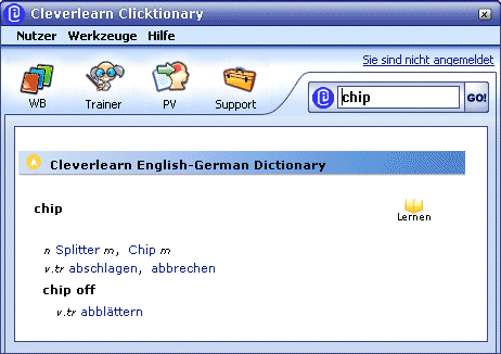 Cleverlearn Clicktionary