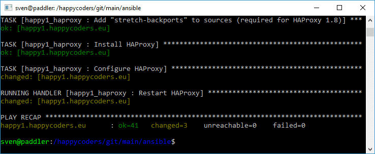 Configuring HAProxy with Ansible