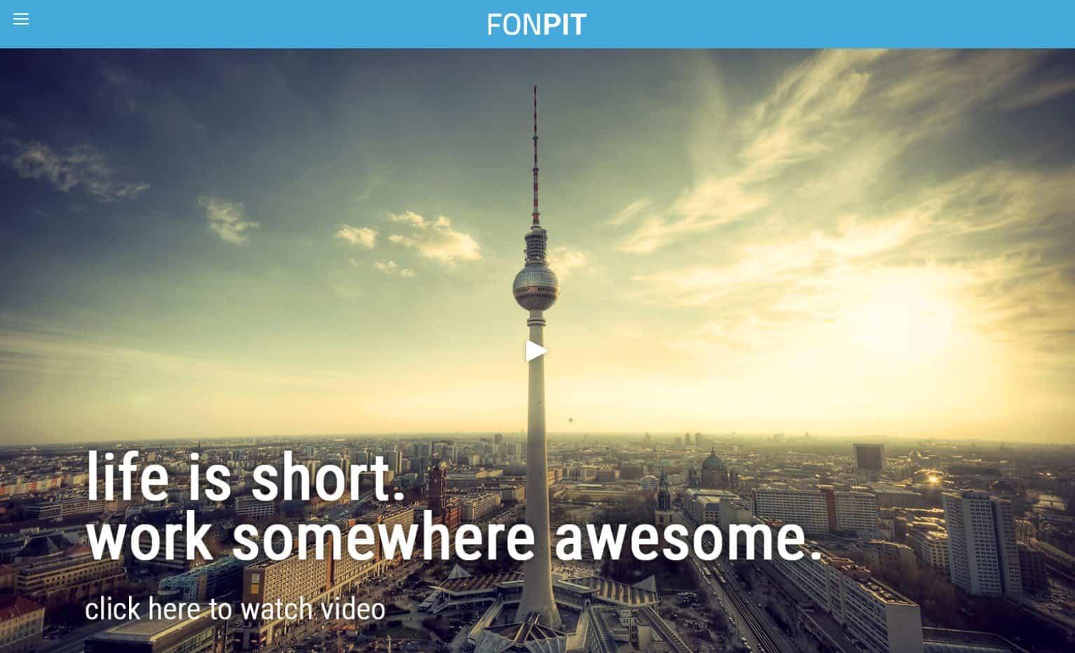 Fonpit website