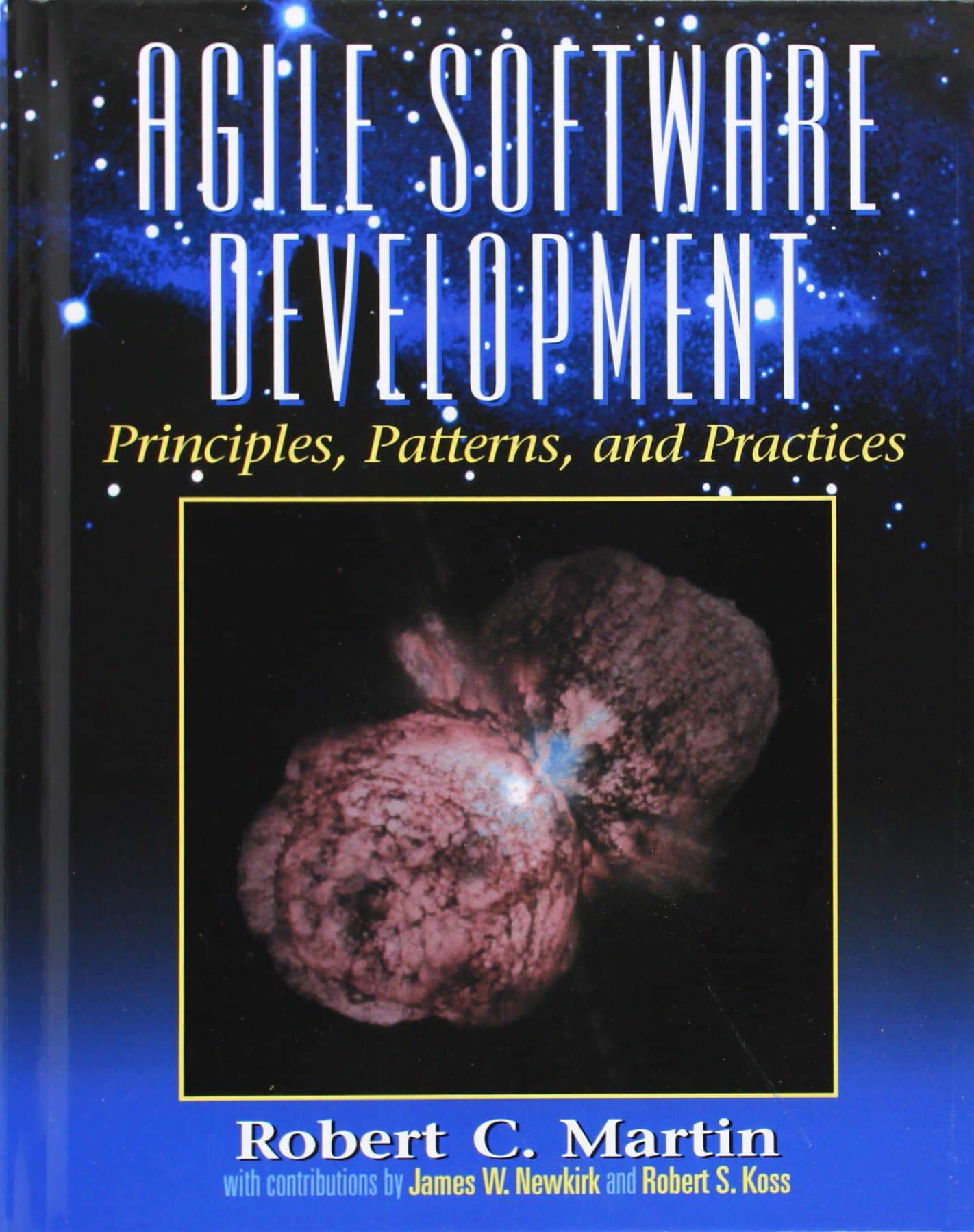 "Buchdeckel ""Agile Software Development - Principles, Patterns, and Practices"""