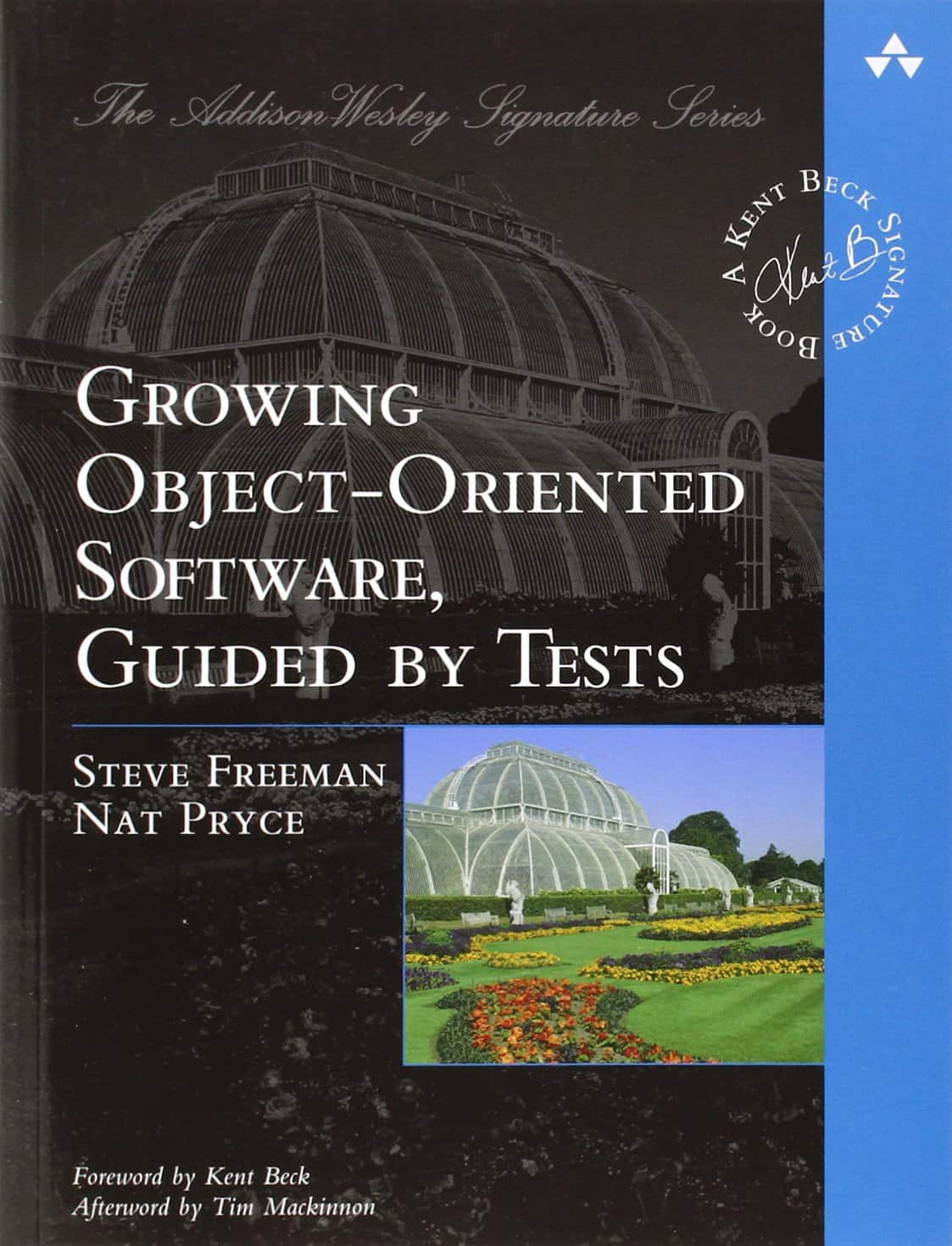 "Buchdeckel ""Growing Object-Oriented Software, Guided by Tests"""