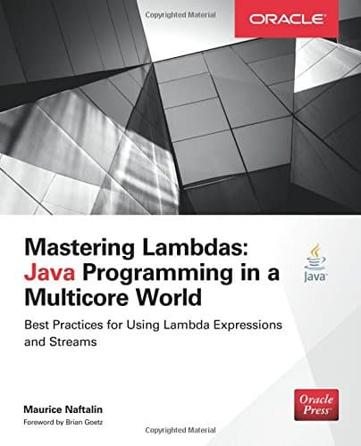 "Buchdeckel ""Mastering Lambdas - Java Programming in a Multicore World"""