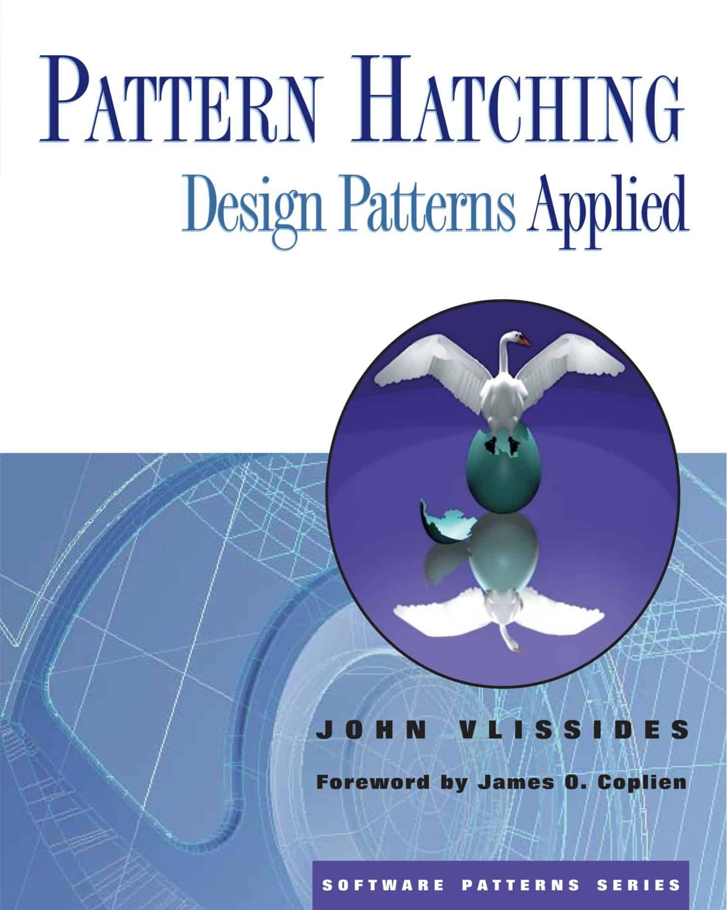 "Buchdeckel ""Pattern Hatching - Design Patterns Applied"""