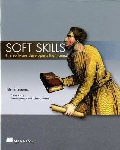 "Buchdeckel ""Soft Skills - The software developer's life manual"""