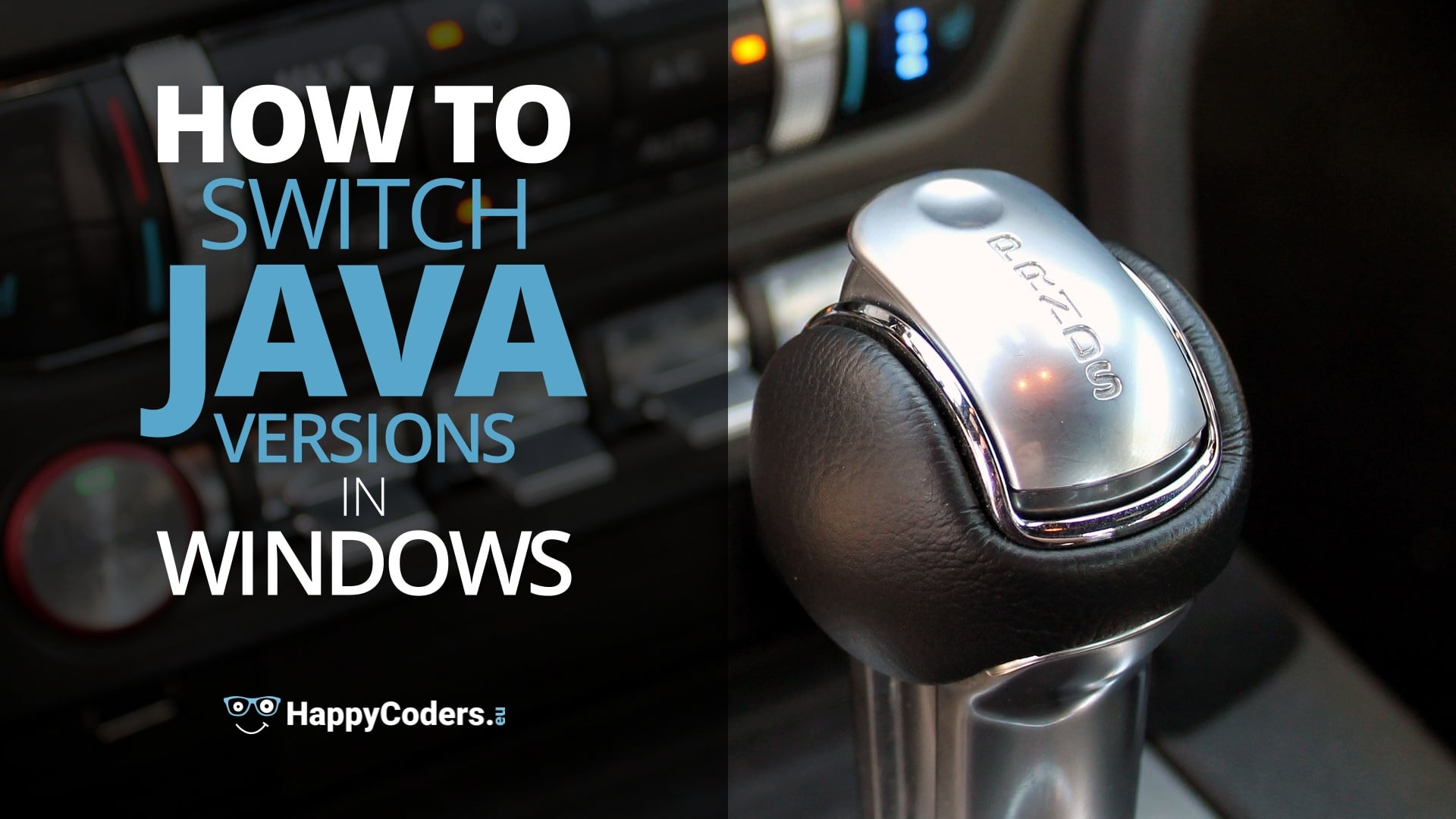 How to switch Java versions in Windows - feature image