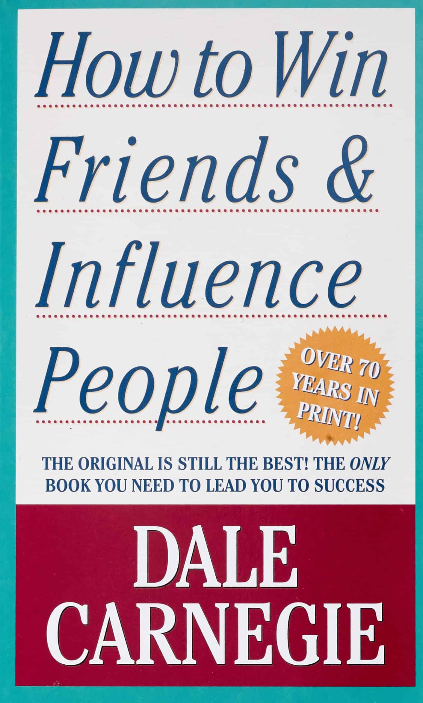 "Book cover ""How to Win Friends & Influence People"""