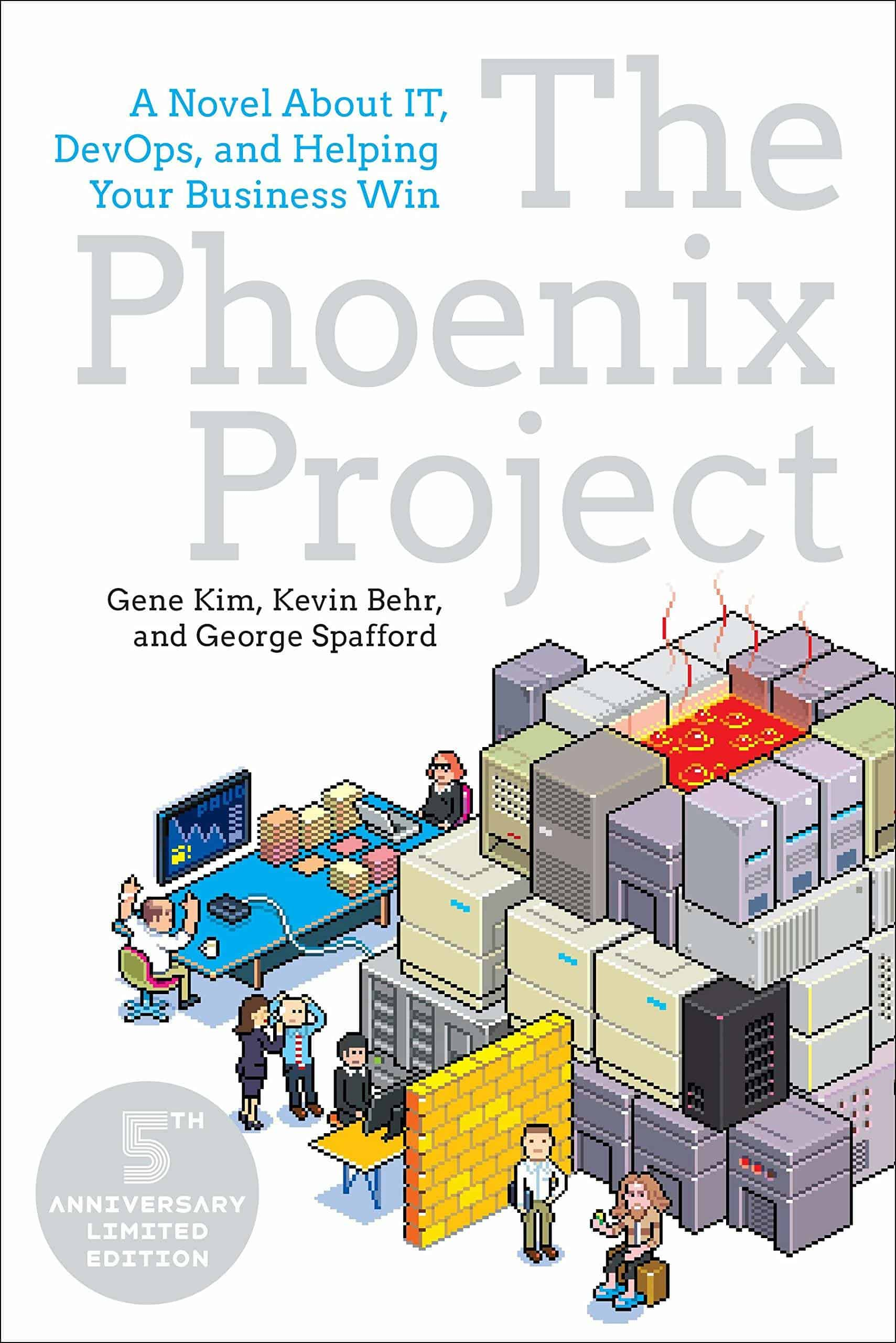 "Buchdeckel ""The Phoenix Project - A Novel About IT, DevOps, and Helping Your Business Win"""