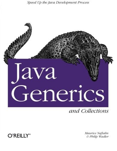 "Buchdeckel ""Java Generics and Collections"""