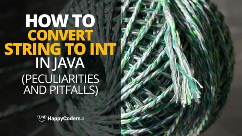 How to convert String to int in Java - feature image