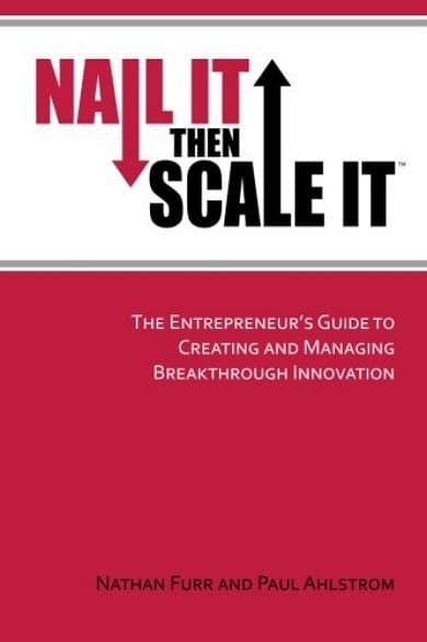 Nail It Then Scale It - Buchdeckel