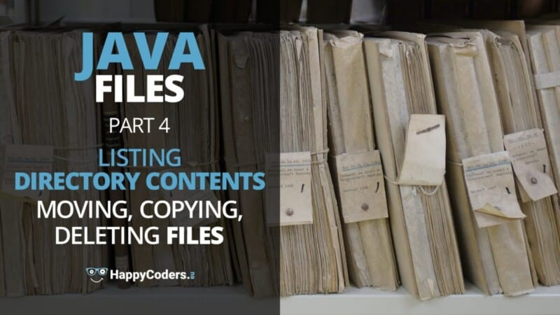 Listing directory contents, moving, copying, deleting files - feature image