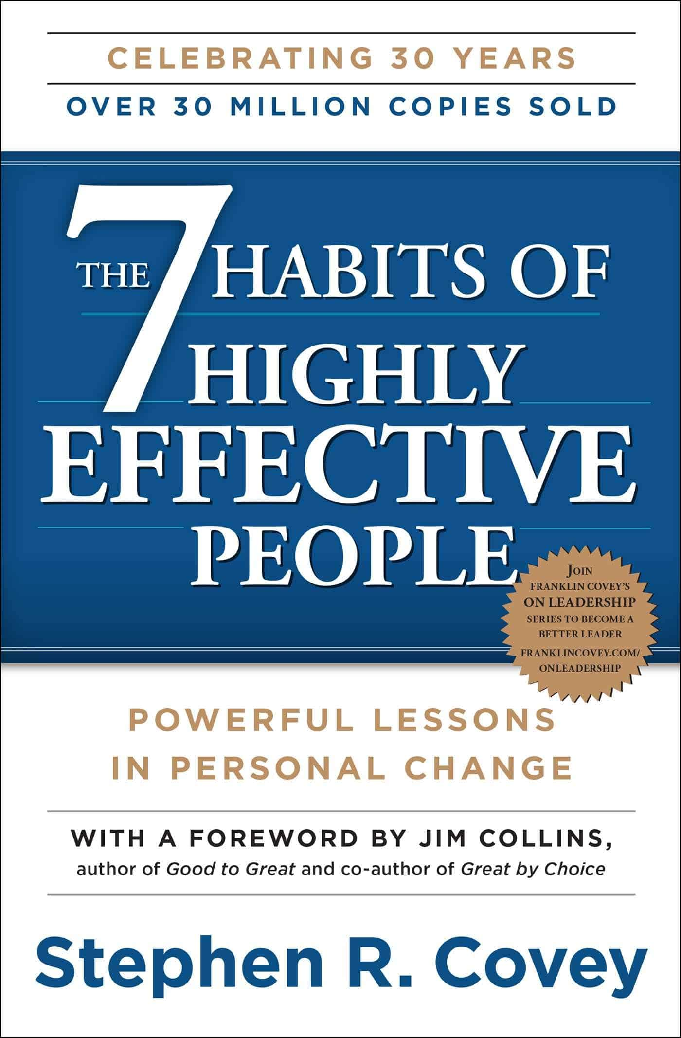 The 7 Habits of Highly Effective People: Powerful Lessons in Personal Change - Buchdeckel