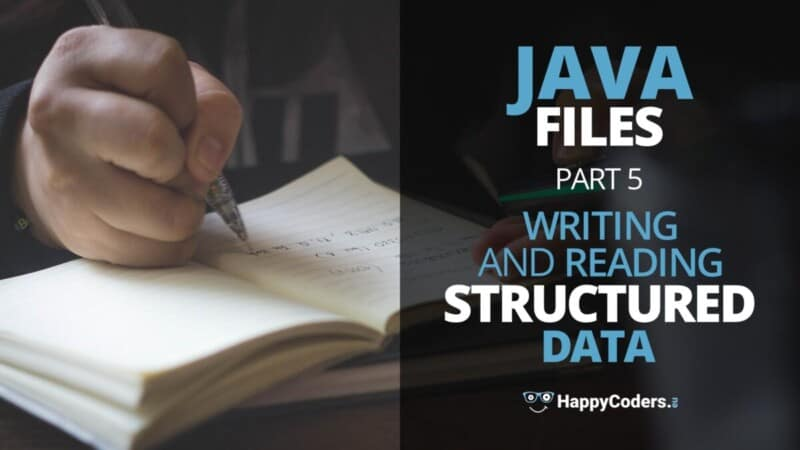Writing and reading structured data - feature image