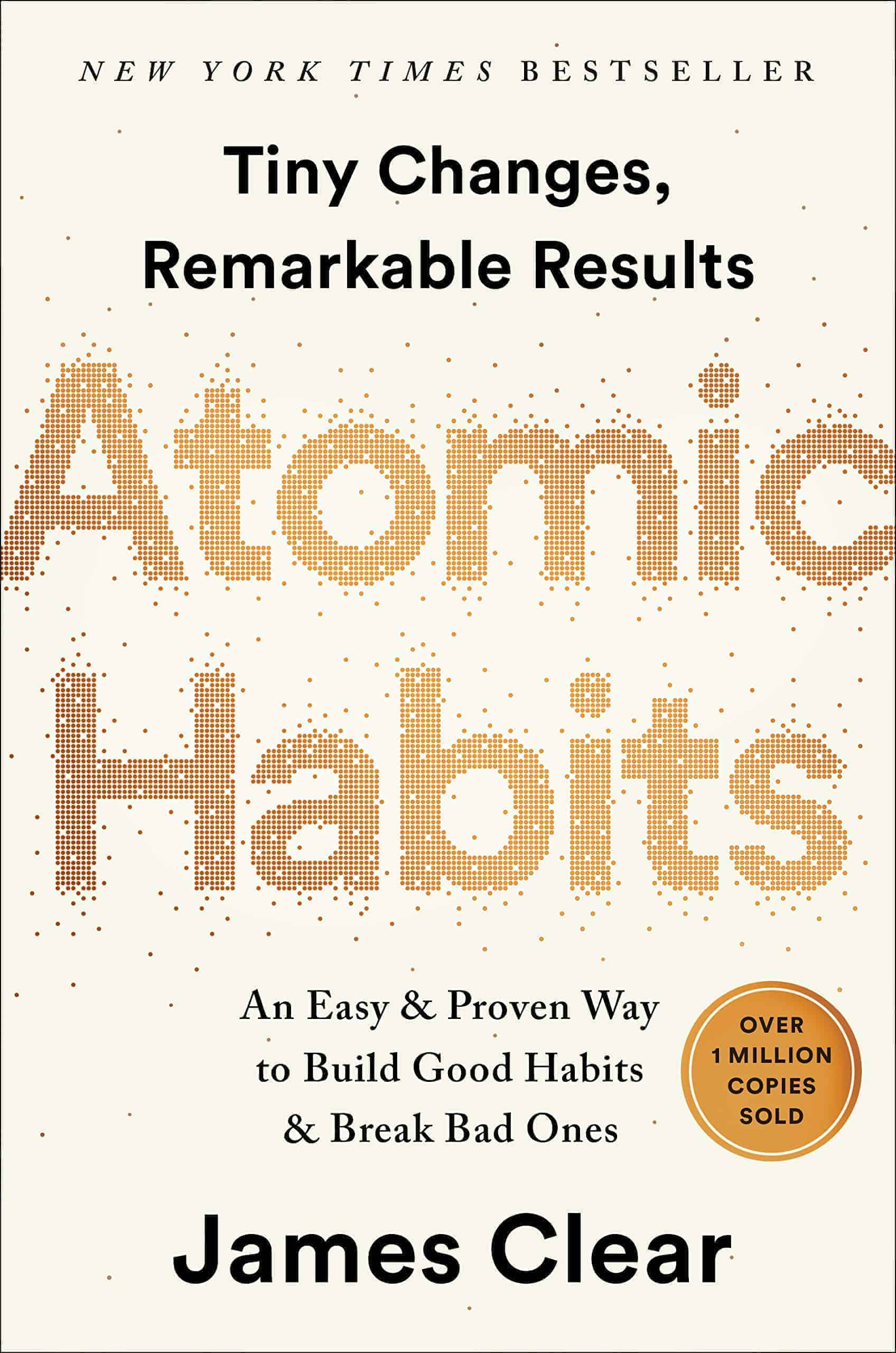 Atomic Habits - Book cover