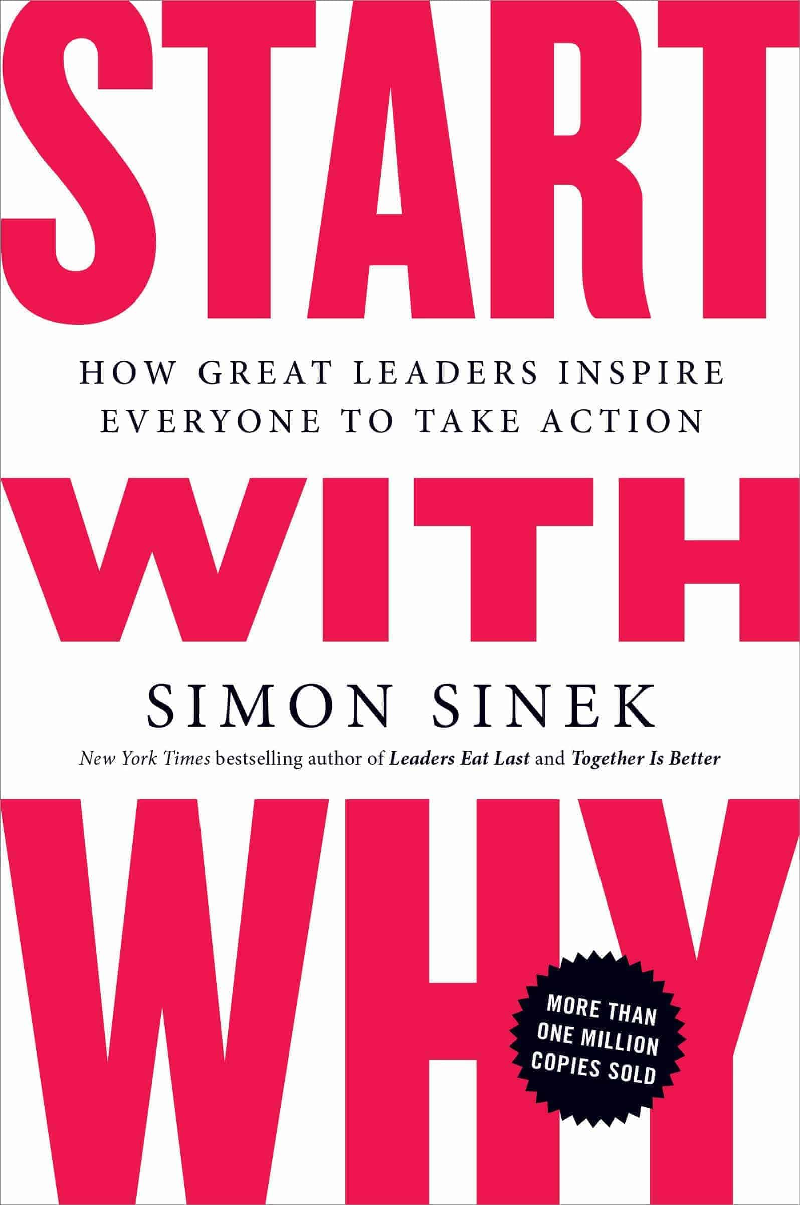 Start with why - Book cover