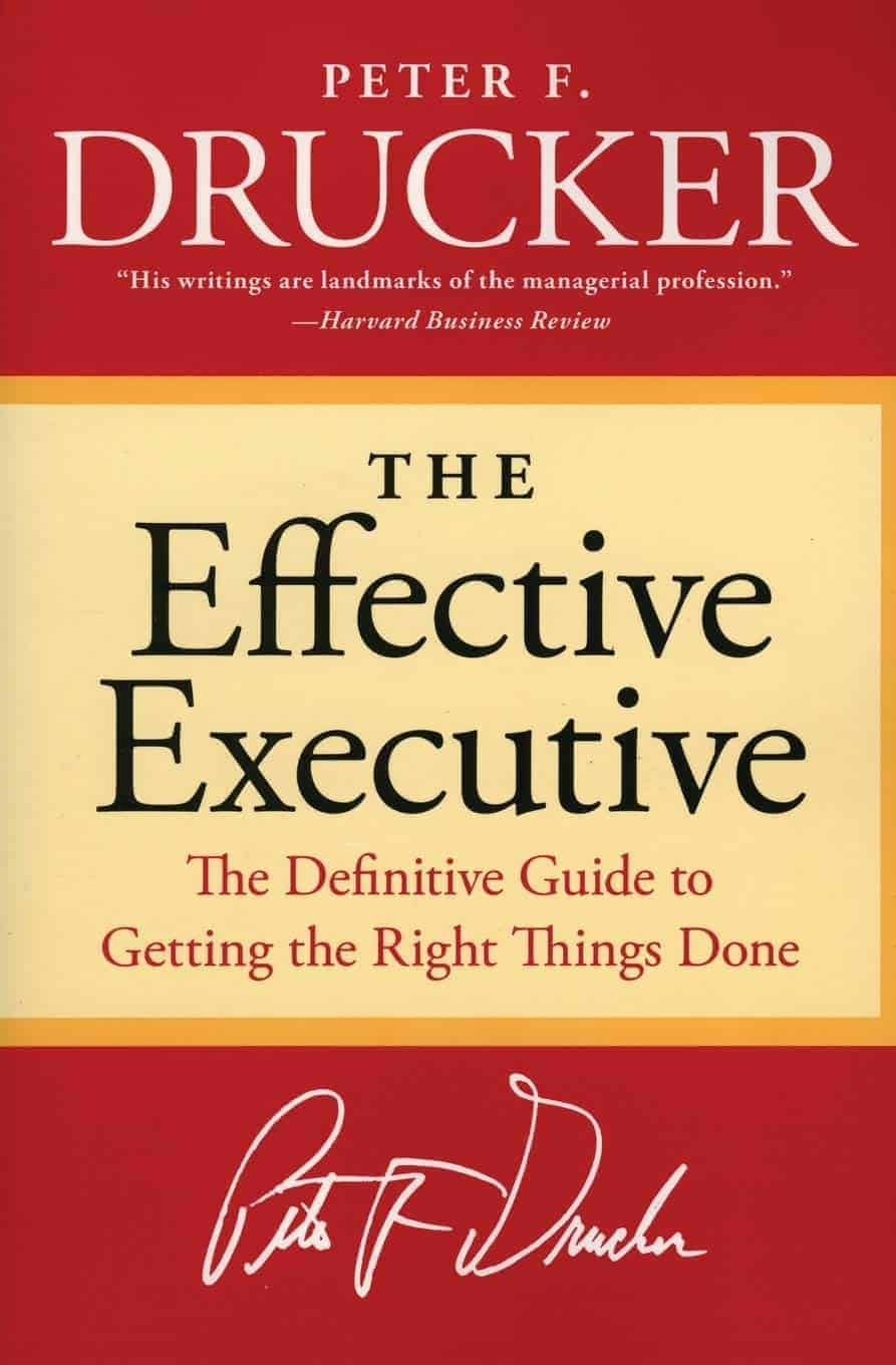 The Effective Executive - Book cover