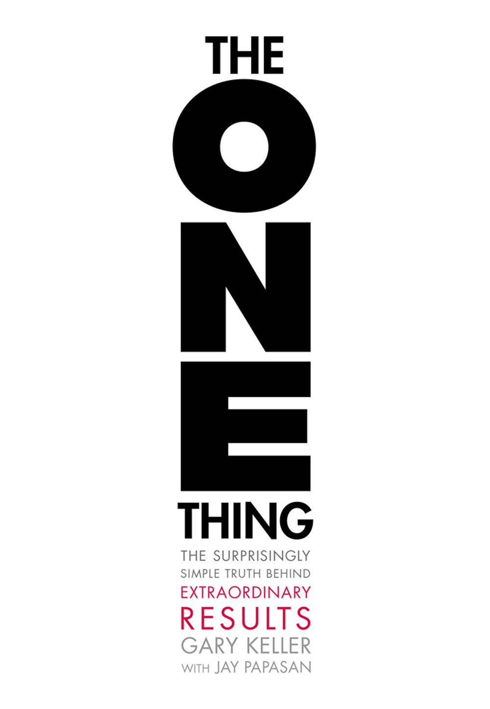The ONE Thing - Book cover