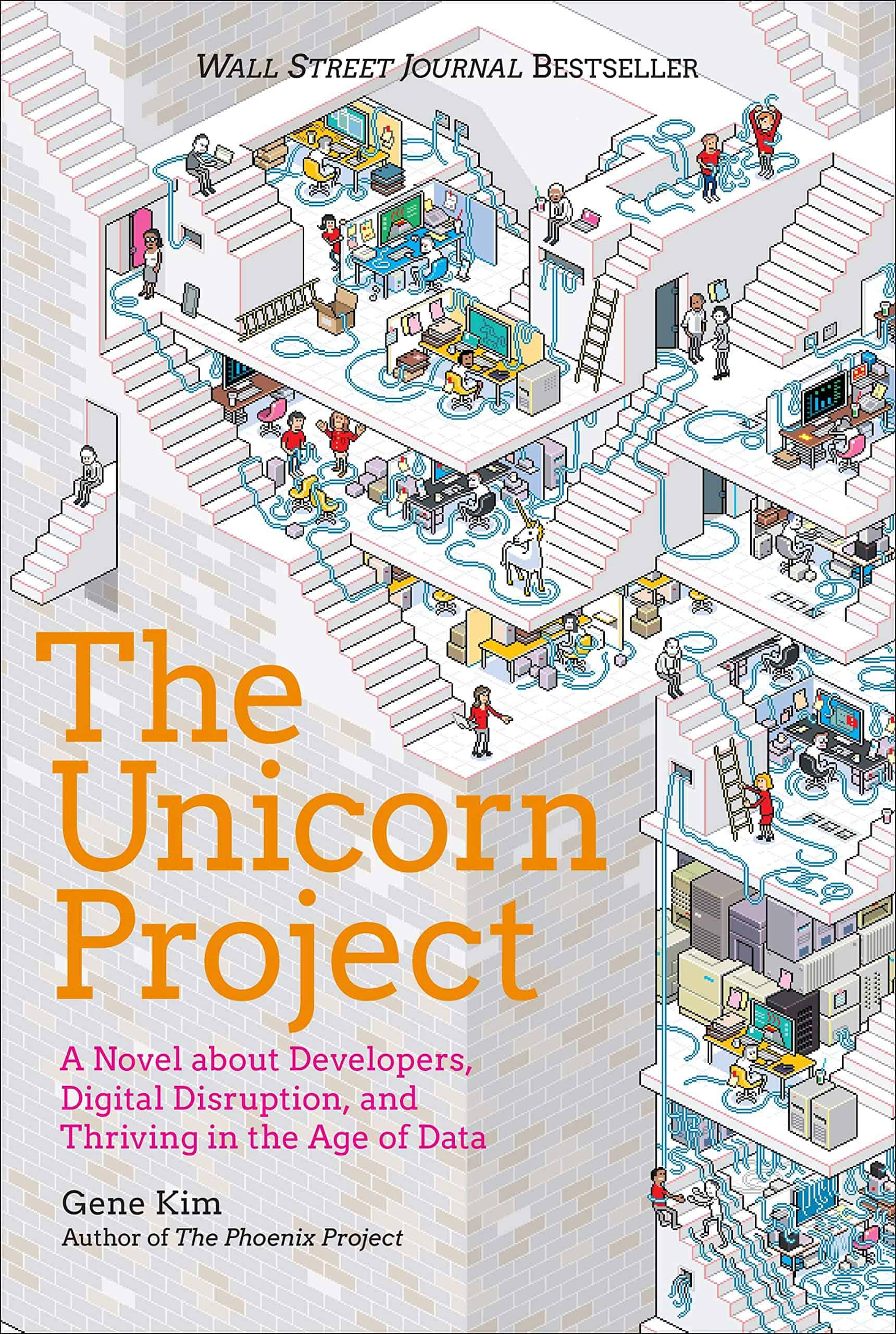 The Unicorn Project - Buchdeckel