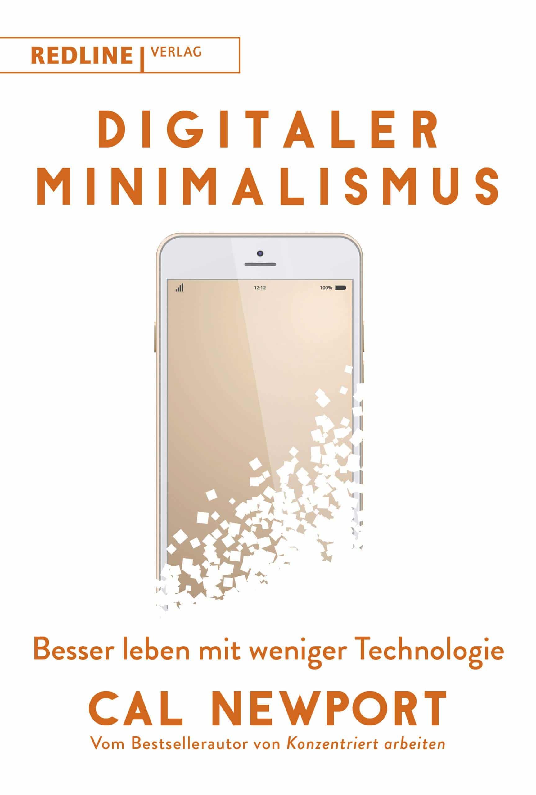 Digitaler Minimalismus - Buchdeckel
