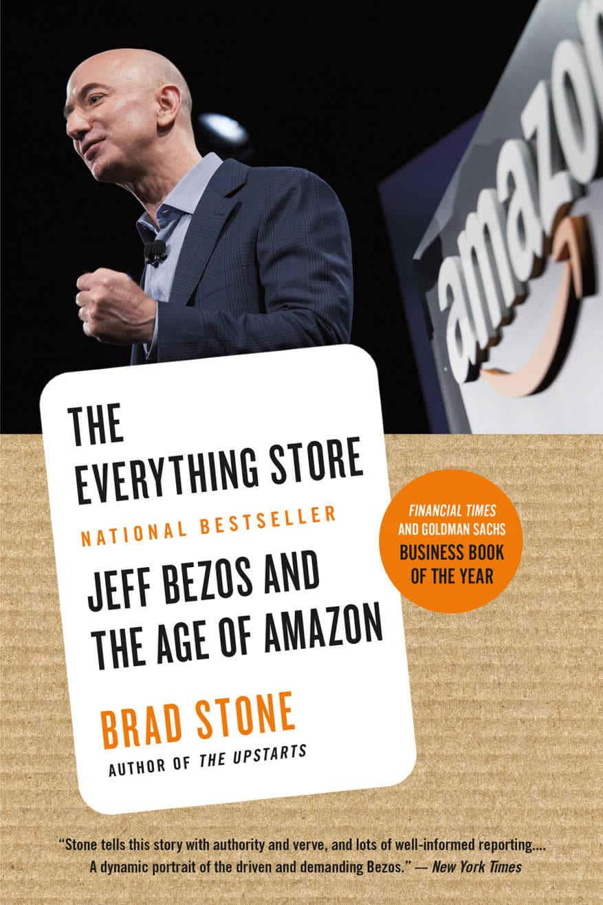 The Everything Store Jeff Bezos Biography - Book cover