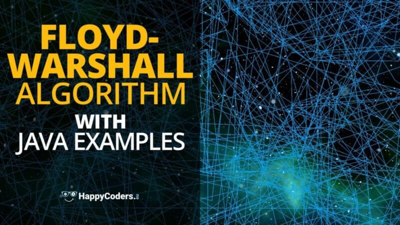 Floyd-Warshall Algorithm With Java Examples - feature image