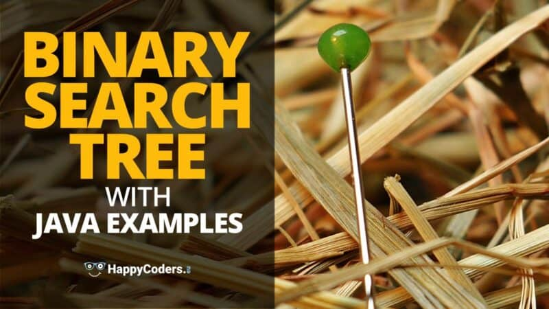 Binary search tree with Java examples